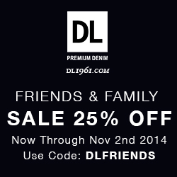 DL1961 Friends & Family 25% Off