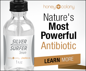 Silver Surfer natural antibiotic