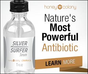 Silver Surfer natural antibiotic