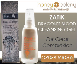 Zatik Dragon's Blood Gel and Honey Colony