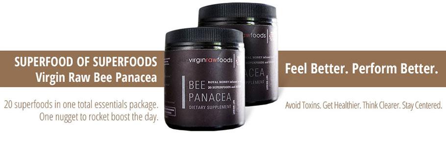Virgin Raw Foods Bee Panacea (5 oz.) long
