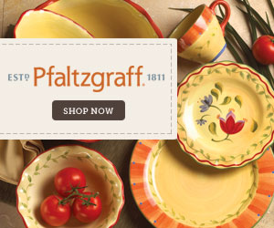 Shop wedding dinnerware at Pfaltzgraff.com