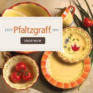 Shop dinnerware at Pfaltzgraff.com!