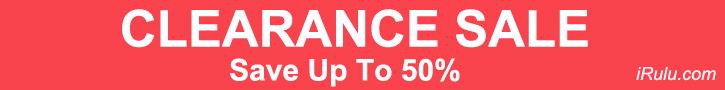 iRulu Clearance Sale - Save Up To 50%
