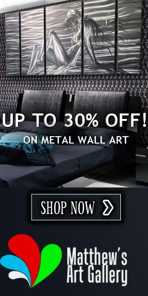 Metal Wall Art Matthew's Art Gallery