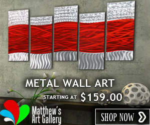 Metal Wall Art Matthew's Art Gallery