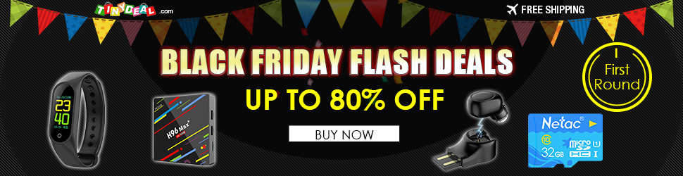 Black Friday Flash Deals UP TO 80% OFF 1st Round