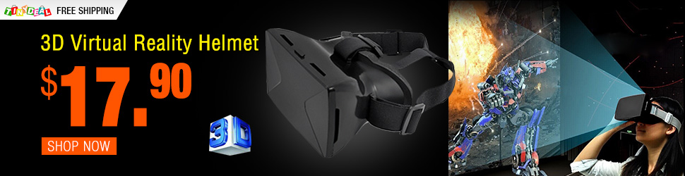 3D Virtual Reality Helmet