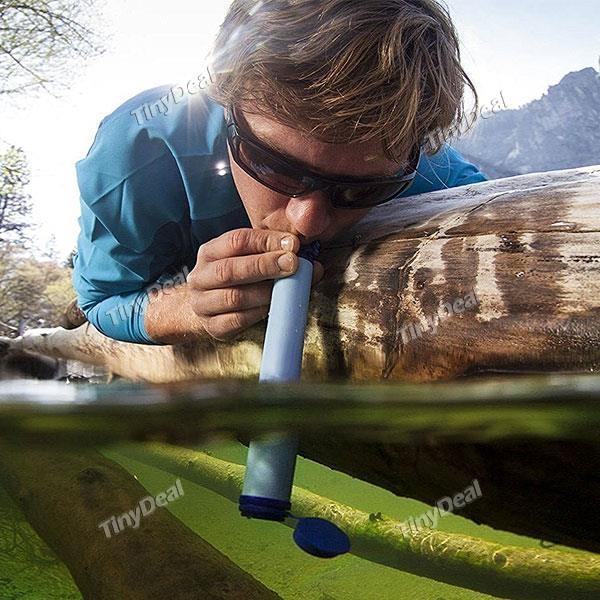 18% off Portable Personal Water Survival Filter For Camping