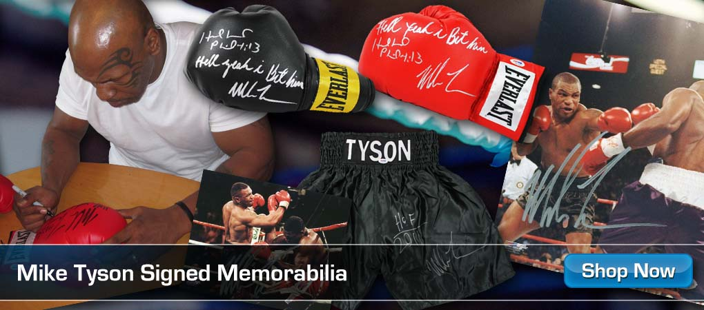 Mike Tyson Collectibles