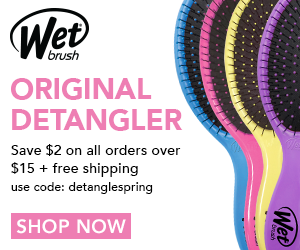 Save $2 on all orders over $15 - code detanglespring + free shipping