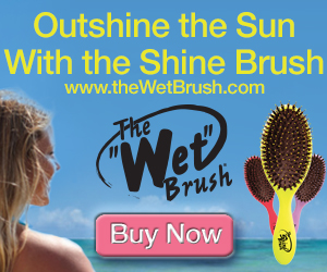 Outshine the sun with The Shine Brush