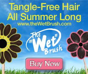 Tangle Free Hair All Summer Long!