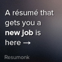 A resume that gets you a new job is here