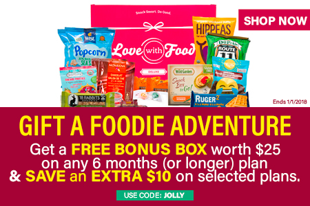 Love with Food December 2017 Coupon