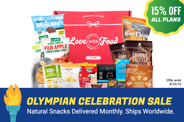 Love With Food 15% Off Subscription Sale
