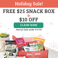 Holiday Sale- $25 Free Box + $10 Off  w/ 6 or 12 m CODE:JOLLY10