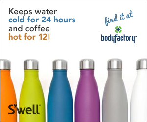 S'well bottles available at bodyfactory.com