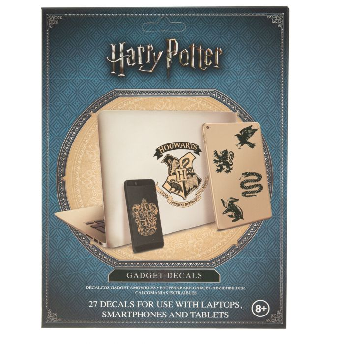 27pc Harry Potter Gadget Decals - Reusable Cling Vinyl Stickers Was: $8.00 Now: $2.00.