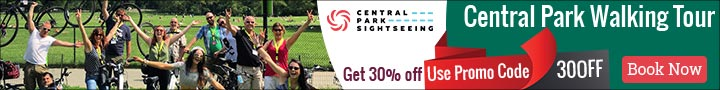 Central Park Walking Tour 30% Off