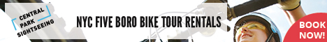 NYC Five Boro Bike Tour Rentals
