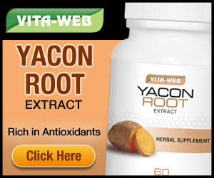 Yacon Root Extract is a natural diet suppressant that has been shown in two clinical studies to help people lose weight. Up to two extra pounds per week.100% natural probiotic/prebiotic for digestive and liver health