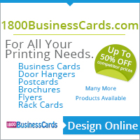 1800businesscards advertisement