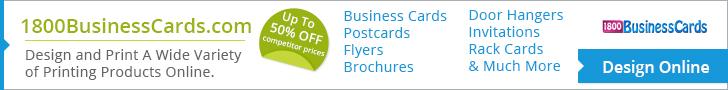 1800businesscards advertisement