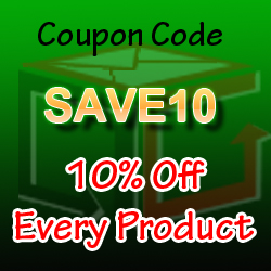 SAve 10% on every products