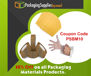 Packaging Supplies by Mail Coupon