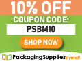 packagingsuppliesbymail.com - SAVE 10% On All Website Products!
