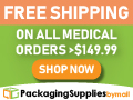 packagingsuppliesbymail.com - Free Shipping On All Medical Supplies Products