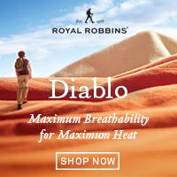 Diablo for Maximum Breathability