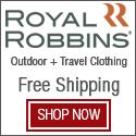 Get Free Shipping on Royal Robbins