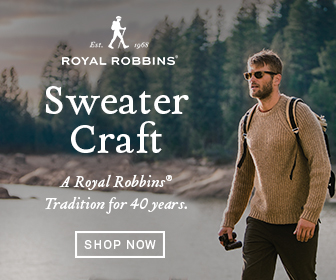 Royal Robbins Sweater Craft