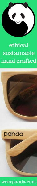 Sustainable bamboo sunglasses by WearPanda