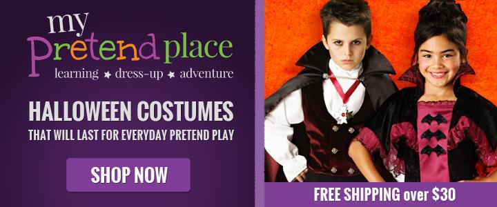 My Pretend Place Halloween Banner - 720x300