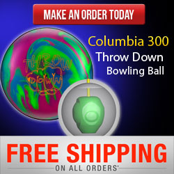 Columbia 300 Throw Down Bowling Ball