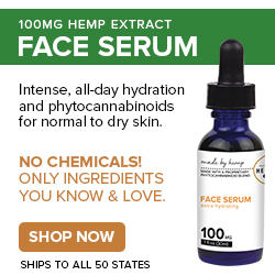 hemp face serum