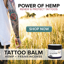 hemp oil tattoo balm