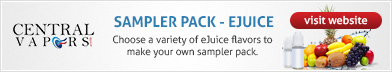 Central Vapors - Create Your Own Sampler Pack