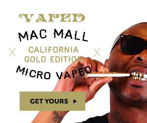Get Your Mac Mall California Gold Edition Micro Vaped Kit