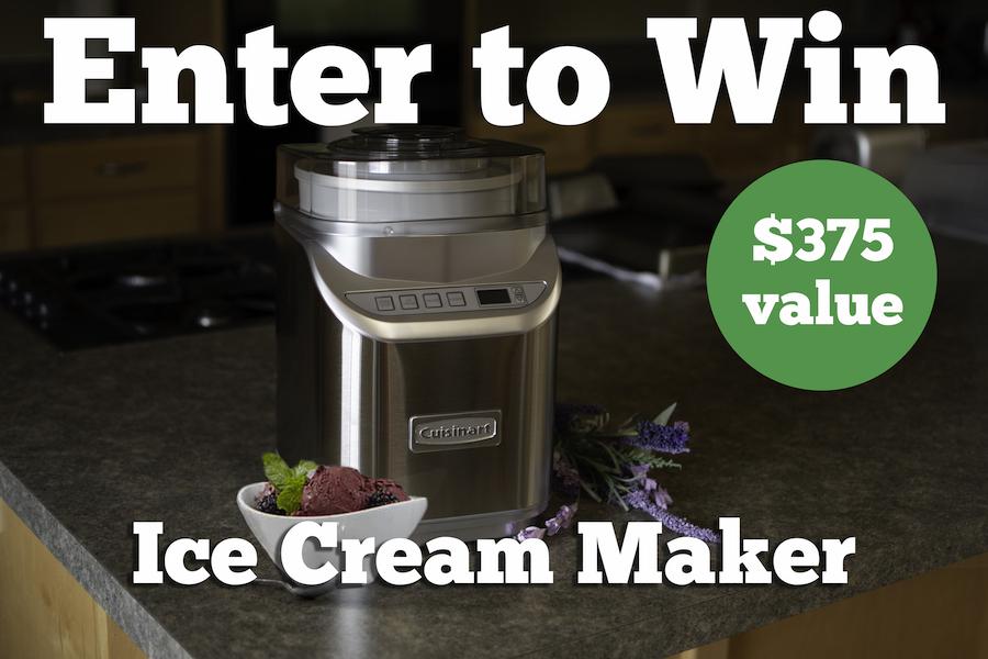 Ice Cream Machine worth $375