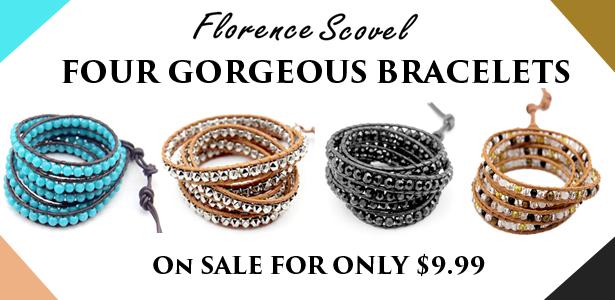 Florene Scovel Wrap Bracelets