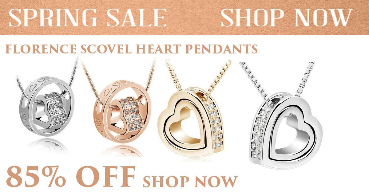 Florence Scovel Forever Heart Pendant