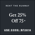 Rent the Runway Stylish Halloween Costume Inspiration & Coupon Code