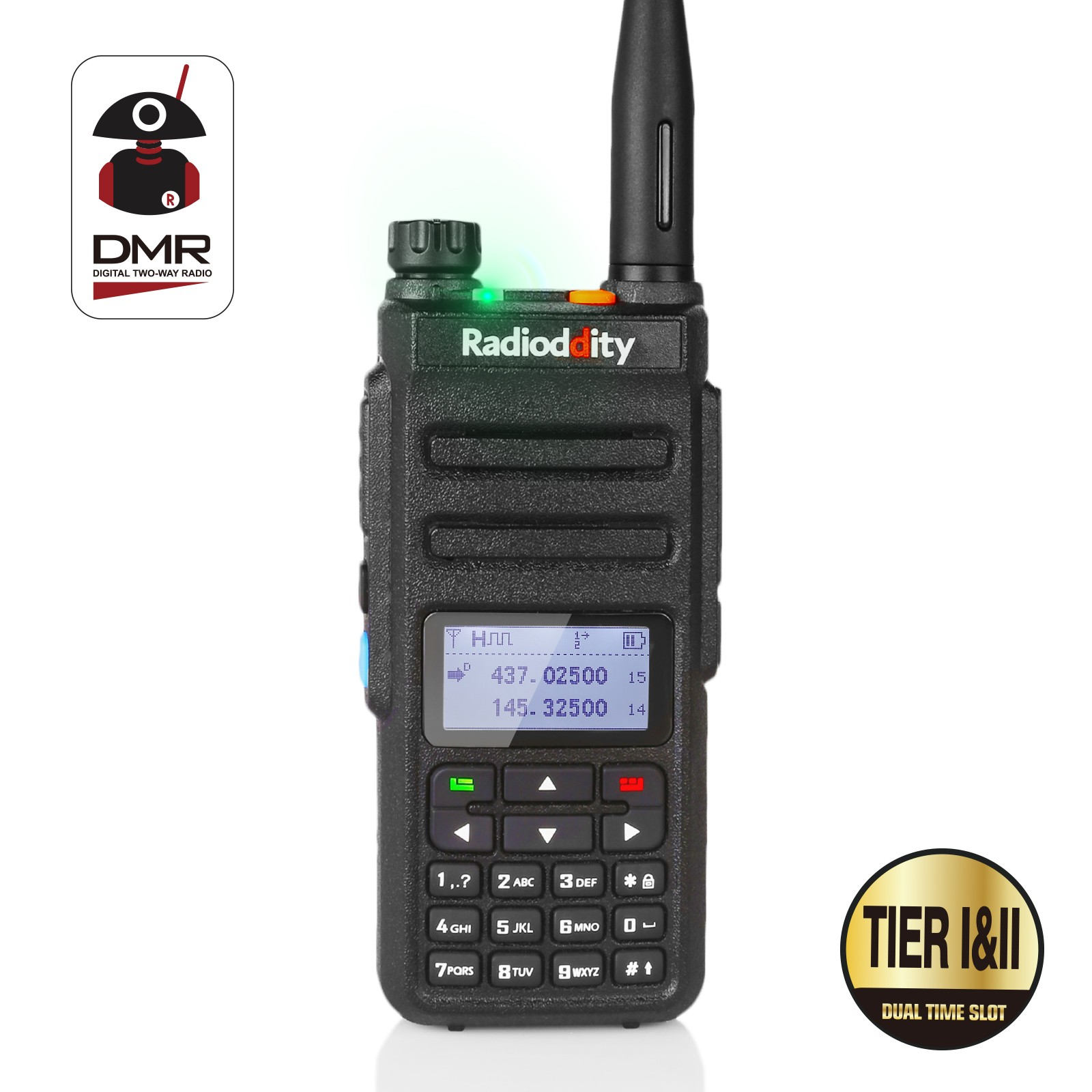 Cheapest DMR Radio Around the World.