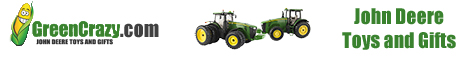 John Deere Toys and Gifts - GreenCrazy.com