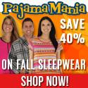 Save 40% at PajamaMania.com