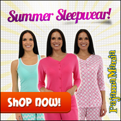 Cool Summer Sleepwear for those hot Summer days from PajamaMania.com